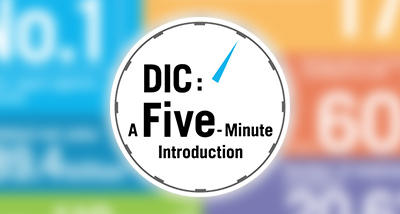 DIC: A Five-Minute Introduction