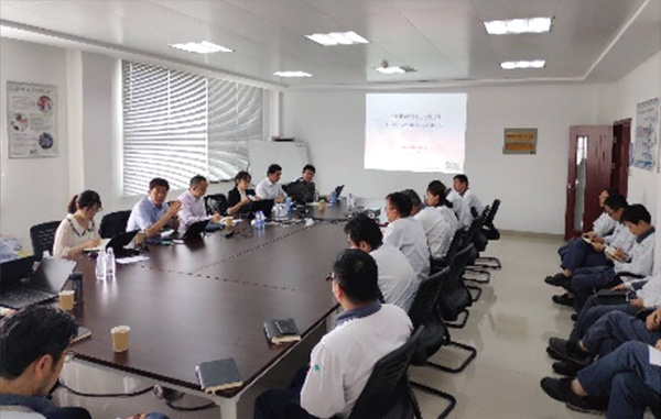 Audit conducted by an external organization at DIC Zhangjiagang Chemicals