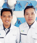 PT DIC Graphics, Karawan Plant Beta production supervisor BACHTIAR NUGROHO AMARULLAH R&D staff SUGIANTO