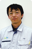 Head Researcher, Polymer Technical Group 1, Polymer Technical Division 1 Tsugio Tomura