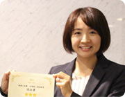 General Affairs and HR Department Naoko Ogawa