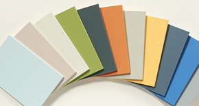 DIC Funen Solid Color - Solid Color Incombustible Decorative Boards