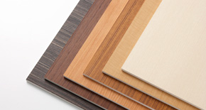 DIC Funen WO - Natural Wood Grain Incombustible Decorative Boards