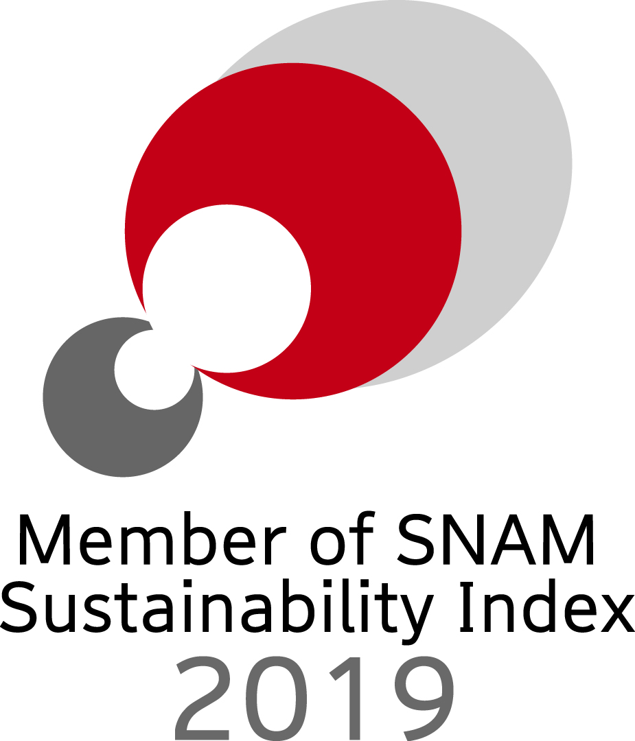 Member of SNAM Sutainability Index 2019